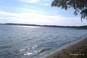 lake at interlochen!